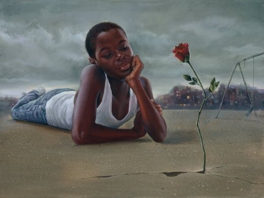 Poems And Quotes The Rose That Grew From Concrete